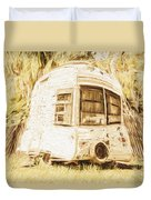 Retrod The Comic Caravan Duvet Cover