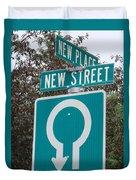 Sign Post Duvet Cover