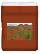 Return Trail To Elephant Hill In Needles District Of Canyonlands National Park-utah Duvet Cover