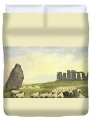 Returning Home     Stonehenge Duvet Cover