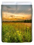 Retzer Wildflower Sunset Duvet Cover