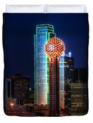 Reunion Tower Duvet Cover