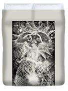 Revelation Of Angel Duvet Cover
