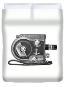 Revere 8 Movie Camera Duvet Cover
