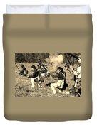 Revolutionary War Battle Duvet Cover