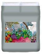 Rex Mardi Gras Parade II Duvet Cover