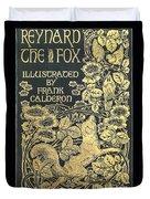 Reynard The Fox Duvet Cover