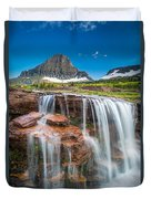 Reynolds Mountain Falls Duvet Cover