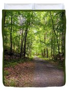 Wooded Path 12 Duvet Cover