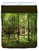 Wooded Path 13 Duvet Cover