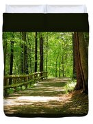 Wooded Path 15 Duvet Cover