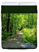 Wooded Path 20 Duvet Cover
