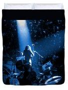 Rg #7 In Blue Duvet Cover