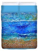 Rhapsody On The Sea Square Crop Duvet Cover