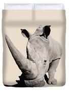 Rhinocerosafrica Duvet Cover