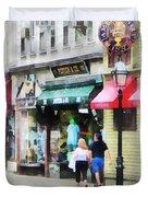 Rhode Island - Thames Street Newport Ri Duvet Cover