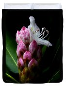 Rhododendron Begining Duvet Cover