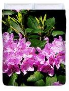Rhododendron Closeup Duvet Cover