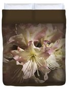 Rhododendron Mary Fleming Duvet Cover