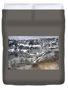 Rhymney Valley Winter 2 Duvet Cover