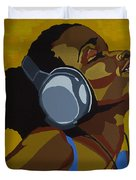 Rhythms In The Sun Duvet Cover
