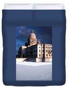 Ri State Capitol 1 Duvet Cover