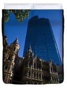Rialto Building Melbourne Duvet Cover