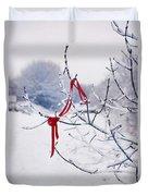 Ribbon In Tree Duvet Cover