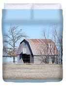Ribbon Roof Crib Duvet Cover