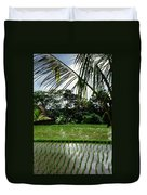 Rice Fields Bali Duvet Cover