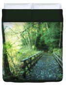 Rice Lake In North Vancouver Duvet Cover by Marlene Ford