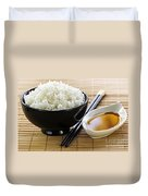 Rice Meal Duvet Cover