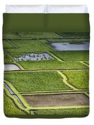 Rice Paddies Duvet Cover