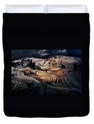 Rice Terrace Field Of Yuan Yang Duvet Cover