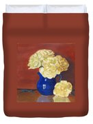 Rich Peonies Duvet Cover