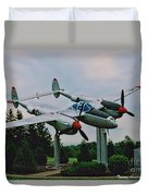 Richard Bong Memorial Duvet Cover