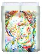 Richard Brautigan  Duvet Cover