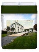 Richard Gambrell Residence In Newport Rhode Island Duvet Cover