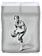 Rick Barry Duvet Cover