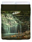Ricketts Glen Shawnee Waterfall Duvet Cover