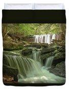 Ricketts Glen Waterfall Cascades Duvet Cover