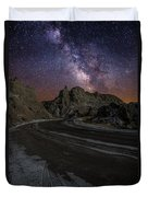 Ride Across The Badlands Duvet Cover