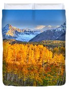 Ride Into The Color Duvet Cover