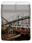 Ride The Roller Coaster Duvet Cover