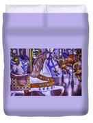 Ride The White Horse Duvet Cover