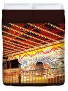 Rides At The Evergreen State Fair Duvet Cover