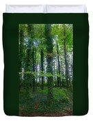 Ridgeway Trees Duvet Cover