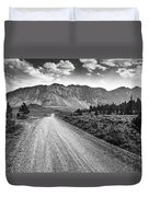 Riding To The Mountains Duvet Cover