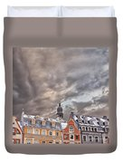 Riga Architecture Duvet Cover