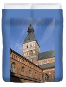 Riga Cathedral Duvet Cover